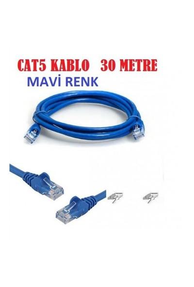 Appa 30 Mt Cat5 Ethernet Data Adsl İnternet Kablosu