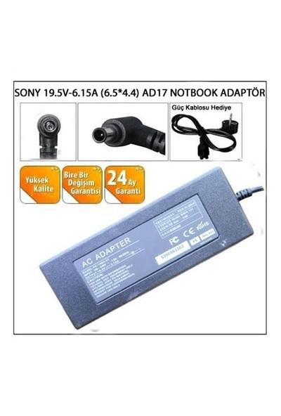 Sony 19.5V-6.15A (6.5*4.4) Ad17 Notebook Adaptör