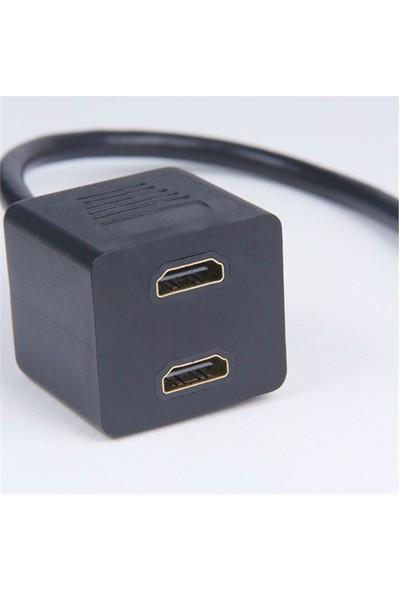 Hiper HC8-1H2H - 1E Giriş 2D Çıkış 2LI HDMI Çoklayıcı