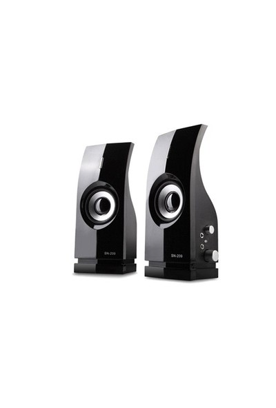 Snopy Sn-209 2.0 Siyah Speaker