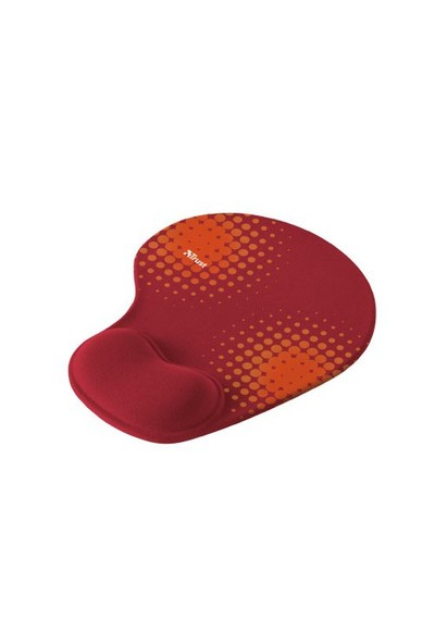 Trust Bigfoot Gel Mouse Pad - Red 16978