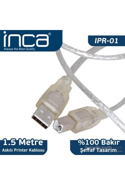 Inca IPR-01 USB 2.0 Bakır Printer Kablosu 1.5m
