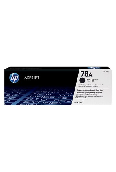 HP 78A 2100 Sayfa Kapasiteli Siyah Toner CE278A
