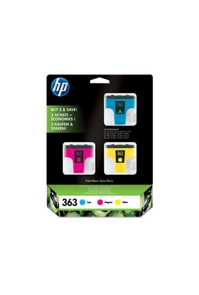 HP 363 Mürekkep Kartuş 3'lü Paket CB333EE / CB333E
