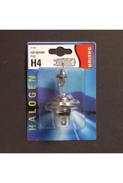 Unitec H4 Far Ampülü 60/55 Watt Ampül 840518