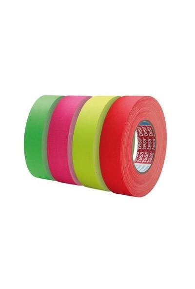 Tesa® 4671 Highlight Reflektörlü Bez Bant Sarı2li Set