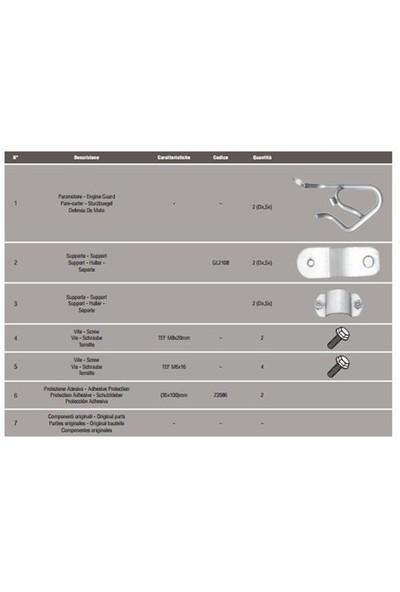 Gıvı Tn1111 Honda Nc 700 X-S Nc 750 X-S - Nc 750 X-S Dct (12-16) Koruma Demırı