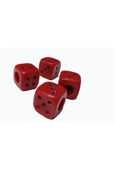 Typer Kırmızı Zar model sibop kapağı seti