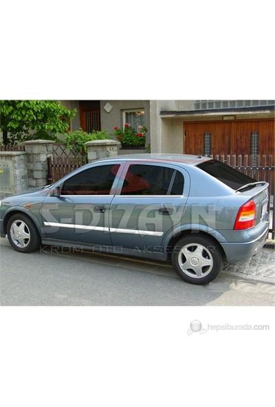 S-Dizayn S-Dizayn Opel Astra G Cam Çıtası 4 Prç. P.Çelik (2001-2009)