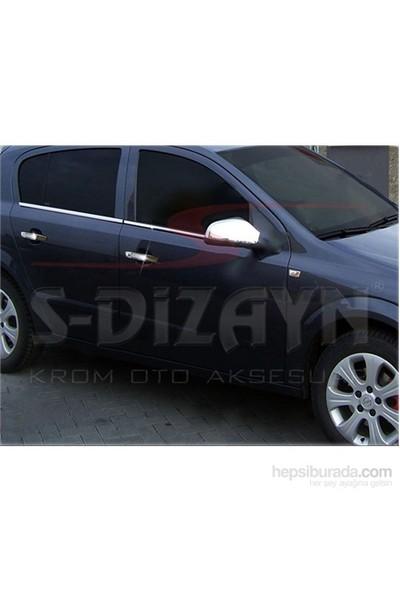 S-Dizayn S-Dizayn Opel Astra H Cam Çıtası 4 Prç. P.Çelik HB (2004>)