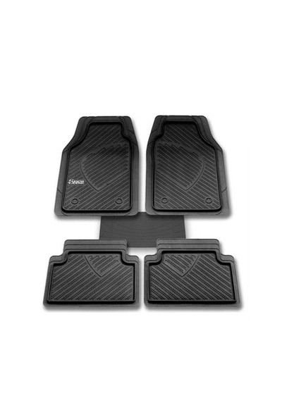 Honda Jazz Paspas Havuzlu Uyumlu Oto Paspas Seti Siyah