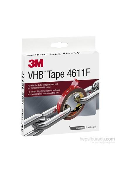 3M Vhb 4611F Çift Taraflı Akrilik Bant 19Mmx3m
