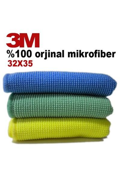3M 3'Lü Paket MicroFiber Bez (60668) 11208