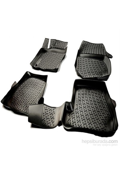 L.Locker Ford Mondeo 2015 Sonrası 3D Havuzlu Paspas