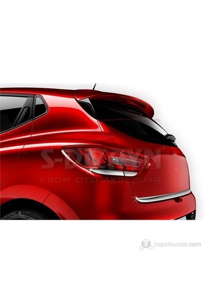 S-Dizayn S-Dizayn Renault Clio-4 Stop Altı Çıtası 4 Prç. P.Çelik (2012>)