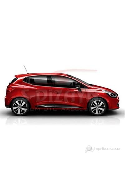 S-Dizayn S-Dizayn Renault Clio-4 Yan Kapı Çıtası 4 Prç. P.Çelik (2012>)
