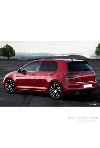 S-Dizayn S-Dizayn Volkswagen Golf 7 Krom Cam Çıtası 4 Prç.