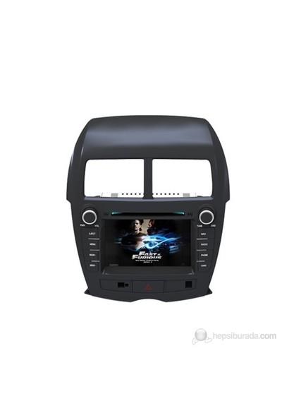 Navimate Mitsubishi ASX (Tüm Modeller) Model Araca Özel Multimedya Sistemi