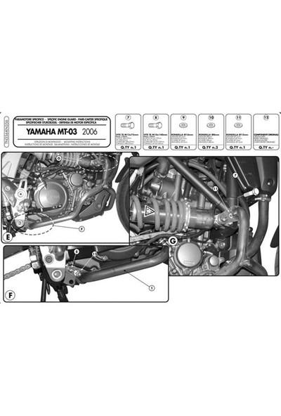 Gıvı Tn356 Yamaha Mt-03 600 (06-14) Koruma Demırı