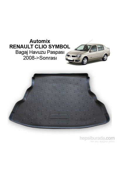 Renault Clio Symbol Bagaj Havuzu 2008-2012