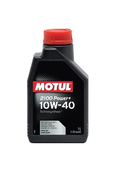 Motul 2100 Power+ 10W-40 1 Litre Motor Yağı ( Üretim Yılı: 2021 )