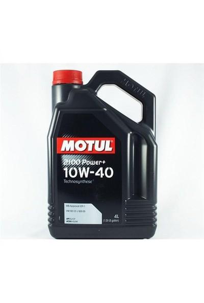 Motul 2100 Power+ 10W40 4 Litre ( Üretim Tarihi:2018 )