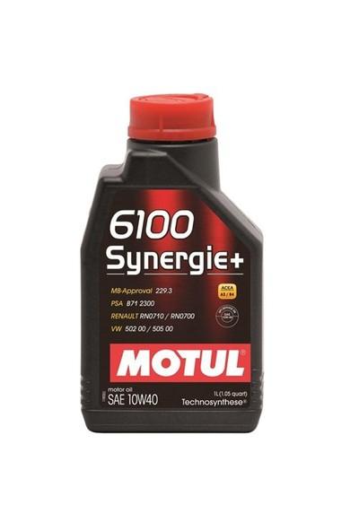 Motul 6100 Synergie+ 10W-40 1 Litre Motor Yağı ( Üretim Yılı: 2021 )