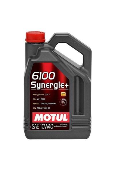 Motul 6100 Synergie+ 10W40 4X Motor Yağı 4 Litre (Üretim Yılı: 2020)