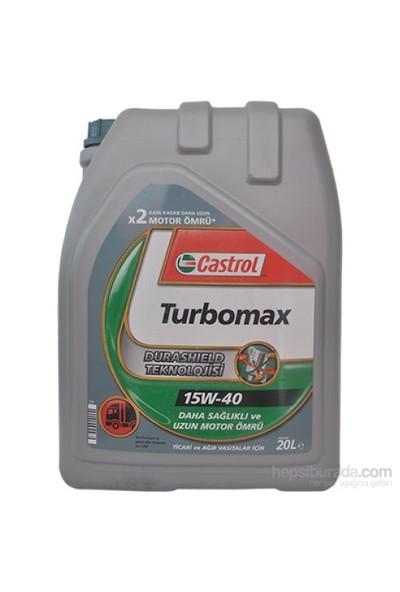 Castrol Turbomax 15W-40 20 Litre Motor Yağı ( Üretim Yılı: 2021 )