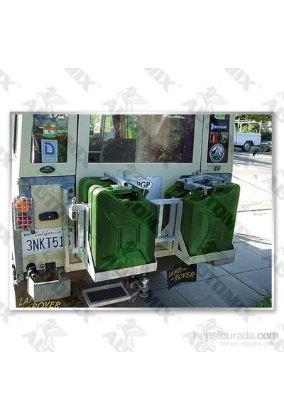 Automix Benzin Bidonu Metal 20 Litre