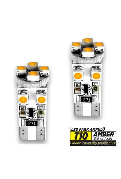Jsv Park Led Ampül T10 Sarı Canbuslı Mcd