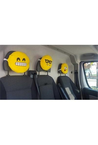 Emoji Boyun Yastığı Sarı No:7 Çap:25Cm 250Gr