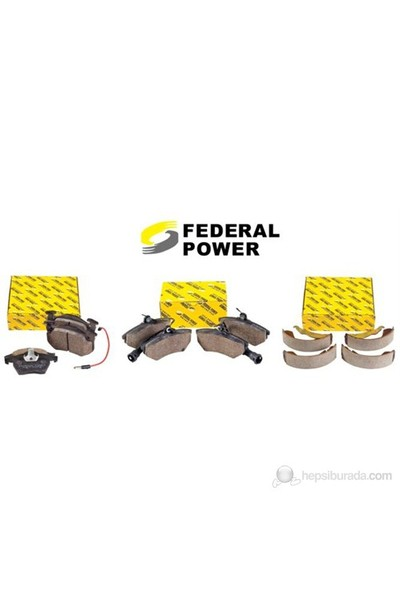Federal Power - Ford Transit T12 Fren Balata Takımı Ön