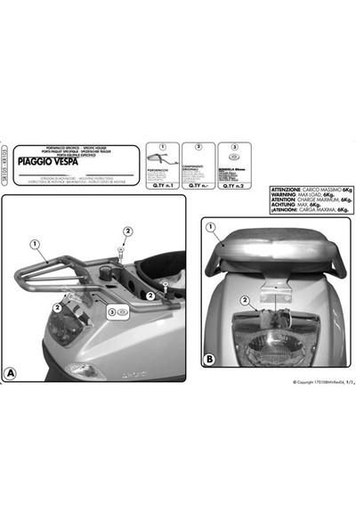 Gıvı Sr105 Pıaggıo Vespa Lx - S 50-125-150 (05-14) Arka Çanta Tasıyıcı