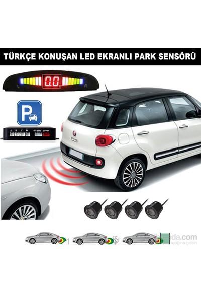 AutoCet Siyah Sensörlü Türkçe Konuşan Park Sensörü (51486)