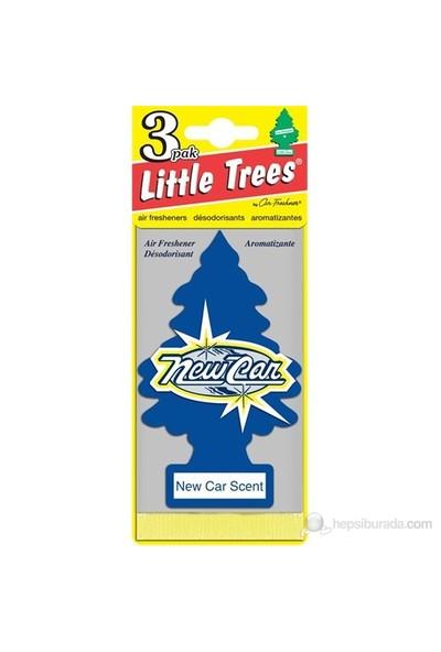 Little Trees Yeni Araba Kokusu New Car 3'lü Pack