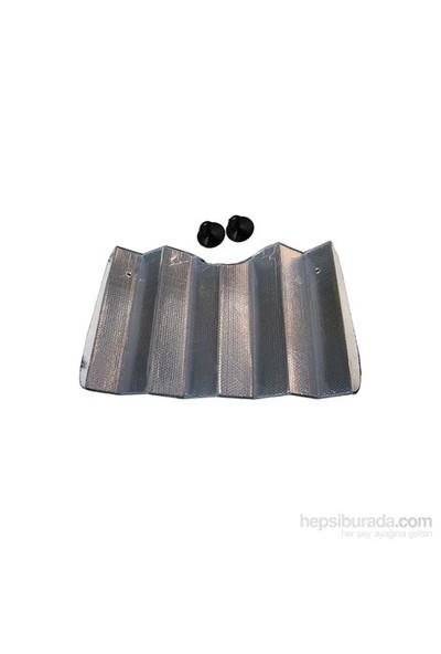Exup Balonlu Metalize Güneşlik Vantuzlu 60*130cm
