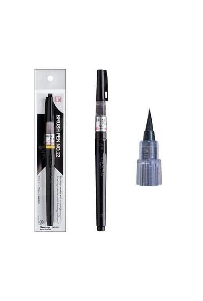 Zıg Mangaka Brush Pen Siyah No:22 Cndm150-22S