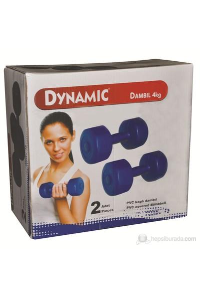 Dynamic 4 KG Vinyl Dambıl Set