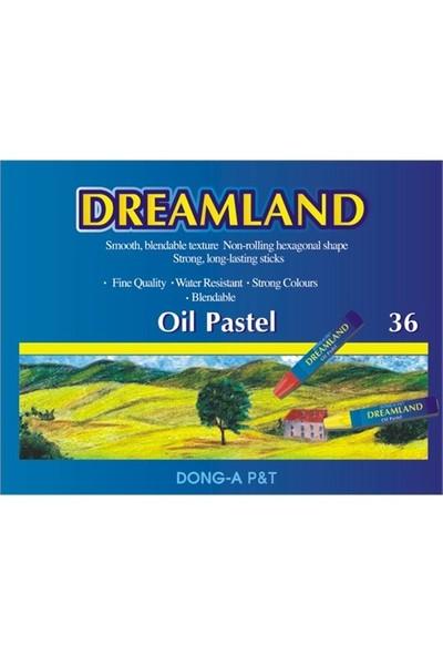 Dong-A Dreamland Yağlı Pastel Boya 36 renk