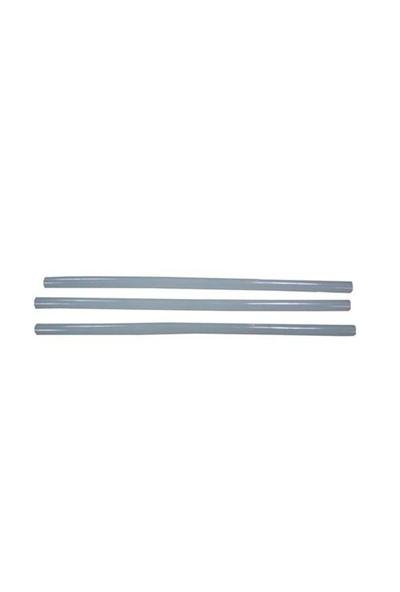 Flex 12 mm Kalın Şeffaf Slikon Çubuk (5 Adet)