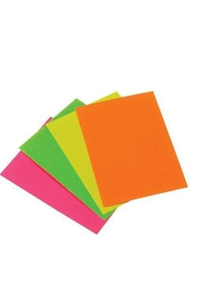 Ticon Fosforlu Fon Kartonu Karışık Renk 50 X 70-50'Li