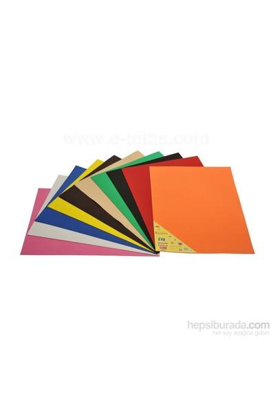 Ticon 2Mm Klasik Eva 50 X 70Cm Karışık Renk 40'Lı Stand