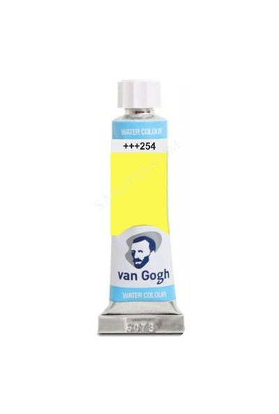 Talens Van Gogh 10 Ml. Tüp Sulu Boya 254 Permanent Lemon Yellow