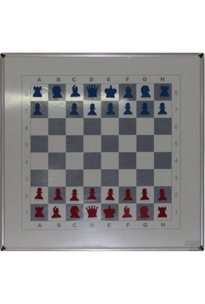 Akyazı 60x60 Duvar Monte Manyetik Satranç Takımı