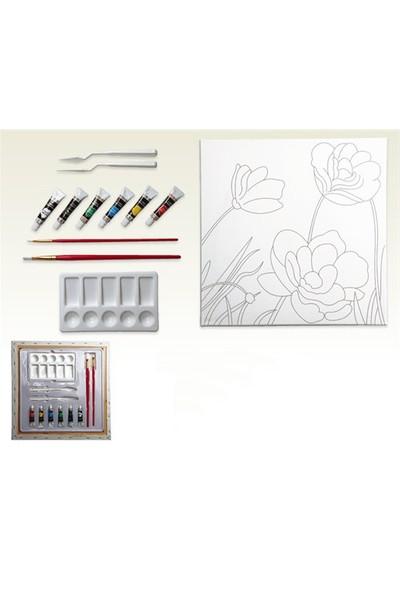 Ceo Art 40X40 Desenli Tuval Seti 1044 Ceo00008