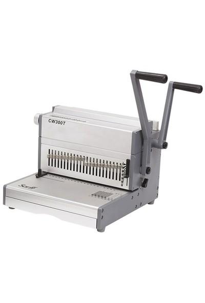 Sarff Cw300t (2:1) Tel Spiral Cilt Makinesi