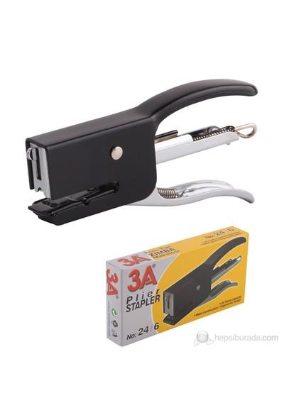 3A Pens Tipi Zımba Makinesi No:24x6 Siyah