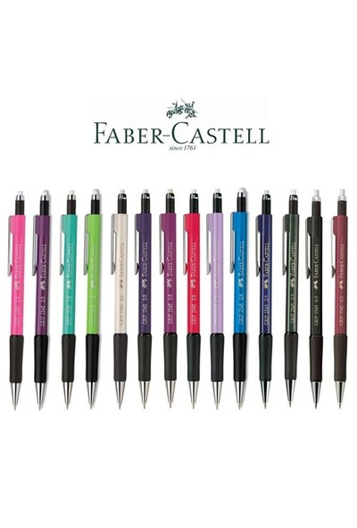 Faber-Castell Grip II 1345 0.5mm Versatil Kalem Beyaz (5084134501)