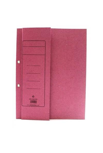 Alemdar Yarım Kapak Karton Dosya Pembe 400 Adet/Koli
